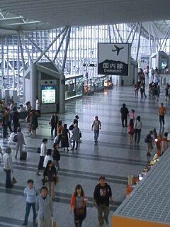 仙台空港から